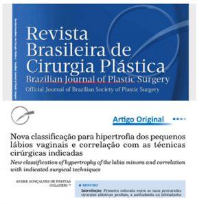 Classificação da Hipertrofia dos Pequenos Lábios Vaginais